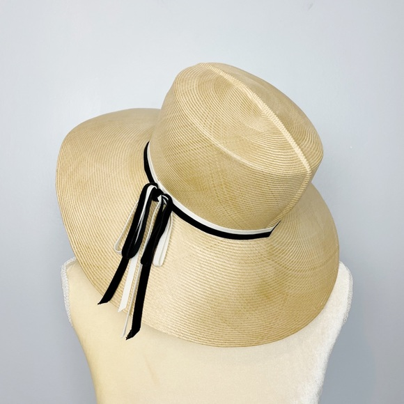 1950s Vintage William Parisian Wide Brim Sun Hat